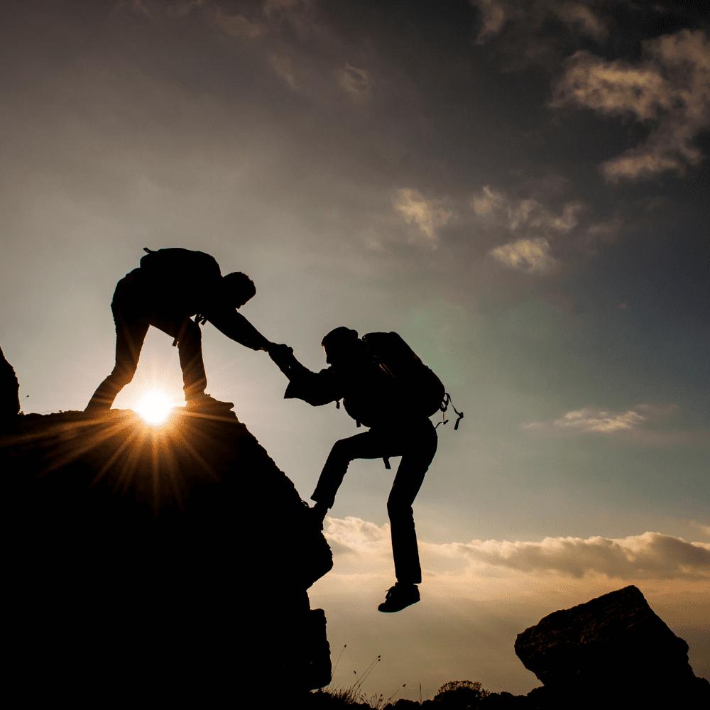 Working together teamwork